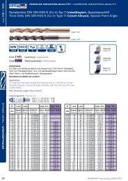Spiralbohrer DIN 338 HSS-E (Co 5) Typ Ti kobaltlegiert ...