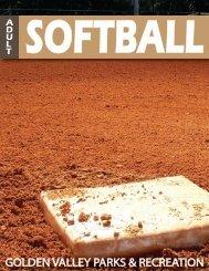 2013 Summer Adult Softball Registration Packet - City of Golden ...