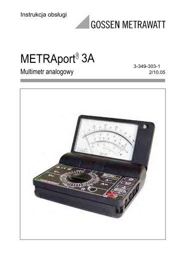 METRAport 3A - Gossen-Metrawatt