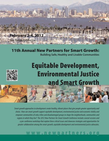 equitable development - New Partners for Smart Growth Conference
