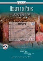 Resumen de Padres AnGus 2012 - Asociación Argentina de Angus