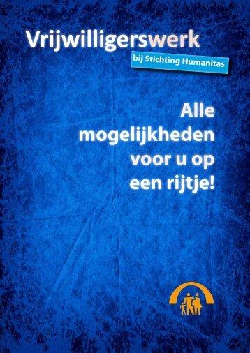 Vrijwilligerswerk in de zorg - Stichting Humanitas