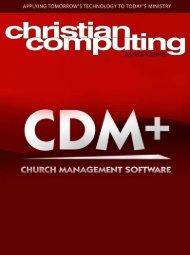 Icon Sytems Announces - Christian Computing Magazine