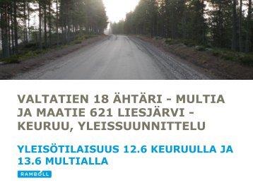 Tilaisuuksien esittelymateriaali - Keski-Suomen liitto