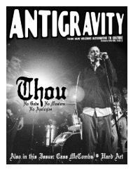 Download the issue in PDF format - Antigravity Magazine