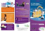 Offre Internet 100 Mégas (Fibre optique) - le site du Val d'Argent
