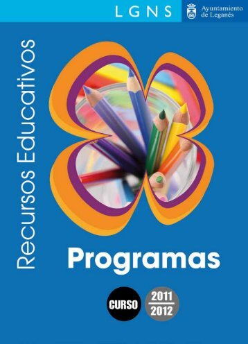 Cuaderno de programas y recursos educativos. Curso 2011-2012