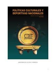 Políticas Culturales y Deportivas Minecude