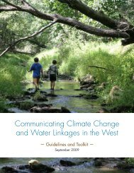 Resource Media_Western Water and Climate.pdf - Climate Access