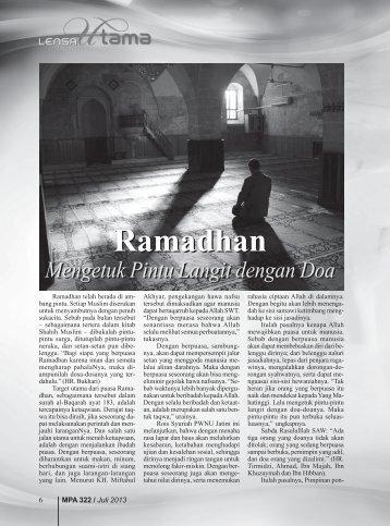 Ramadhan Ramadhan - Kemenag Jatim
