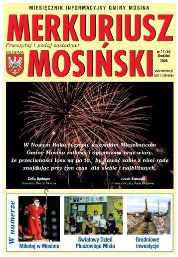 Wydanie nr 11/64 - Mosina, Urząd Miasta