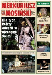 Wydanie nr 10/74 - Mosina, Urząd Miasta