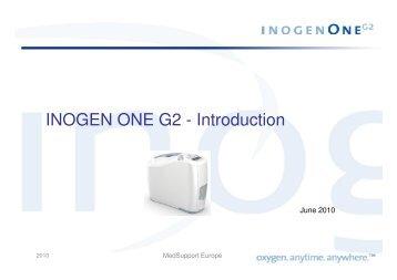 INOGEN ONE G2 - Introduction