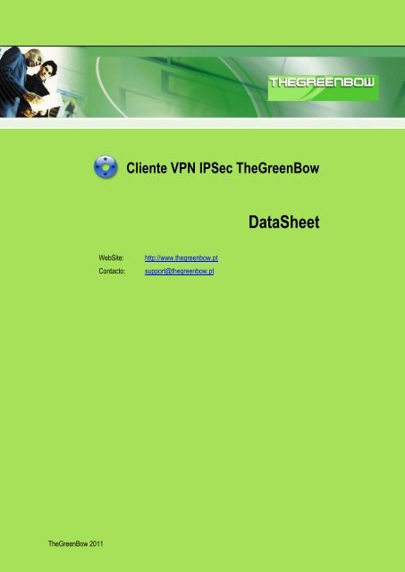 TheGreenBow IPSec VPN Cliente