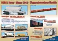 HERIS News - Messe 2012 - Die ganz besonderen Modelle