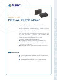 Power over Ethernet Adapter - Temple