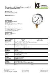 Technisches Datenblatt45.6 kB - ICS Schneider Messtechnik GmbH