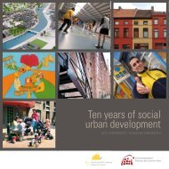 Ten years of social urban development