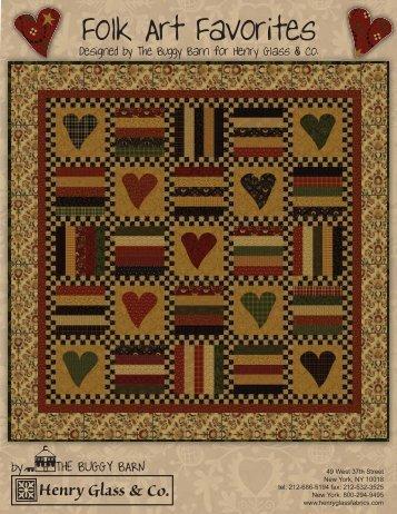 Folk Art Favorites final - Stitch-N-Frame