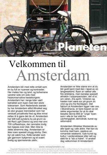 Reiseplanetens guide til Amsterdam