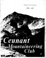 June 1964 - Ceunant Mountaineering Club