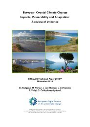 report - European Topic Centre for Air Pollution and Climate Change ...
