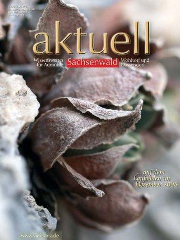 Sachsenwald aktuell - Geesthachter Anzeiger
