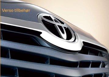 Verso tilbehør - Toyota
