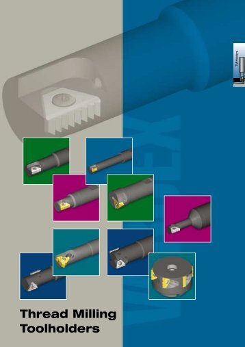 Thread Milling Toolholders