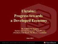 Recent Financial Crises - US-Ukraine Business Council