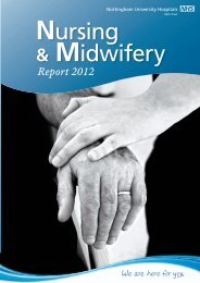 Download our 2012 Nursing and Midwifery Annual Report.
