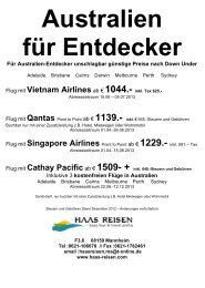 Flug mit Singapore Airlines Point to Point ab € 1229.