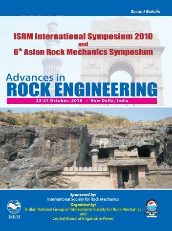 For further details, click here to download the second bulletin - ISRM