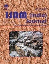 ISSN : 2277-1328 (Online) - ISRM
