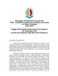 leggi - Comitato Tricolore per gli Italiani nel Mondo