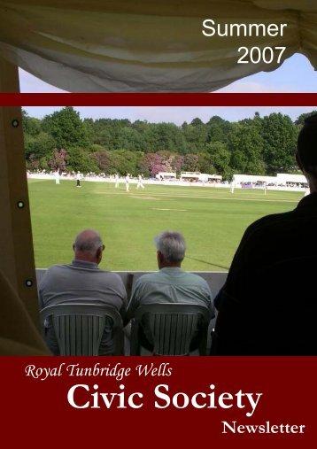 Display Summer 2007 - The Royal Tunbridge Wells Civic Society
