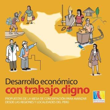 Cartilla. Desarrollo Económico con Trabajo Digno - Mesa de ...