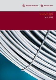 Katalog válcovaného drátu - Třinecké železárny