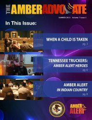 In This Issue: - Amber-net.org