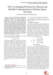 An Integrated Protocol for Efficient And Reliable Communication In ...