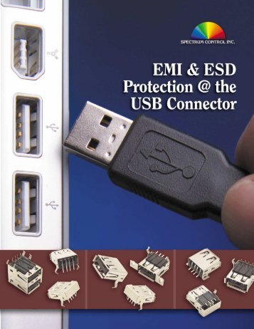 EMI & ESD Protection at the USB Connector - Spectrum Control
