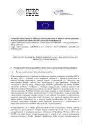 Europejski dialog społeczny i bie ący rozwój państwowy w ... - CoESS