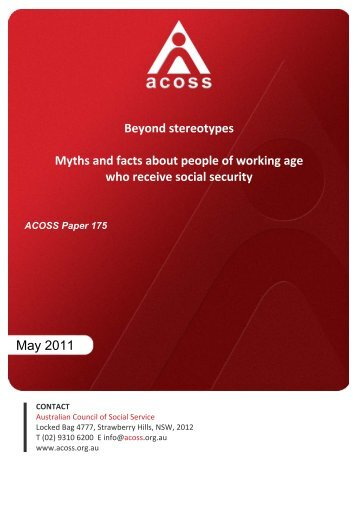 Beyond stereotypes Myths and facts about people of working age ...
