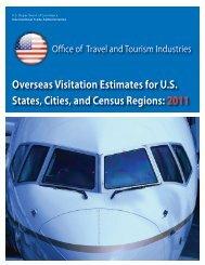 Overseas Visitation Estimates for U.S. States, Cities, and Census ...