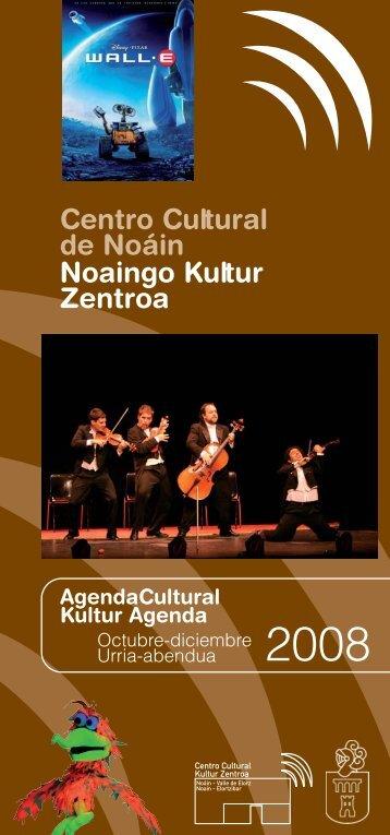 Agenda oct-dici 08.6.5 - Ayuntamiento de Noáin