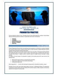 prohibited practice - Health and Life Insurance and Medical Plan at ...