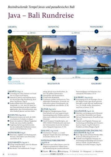 Java – Bali Rundreise - Rundreisen