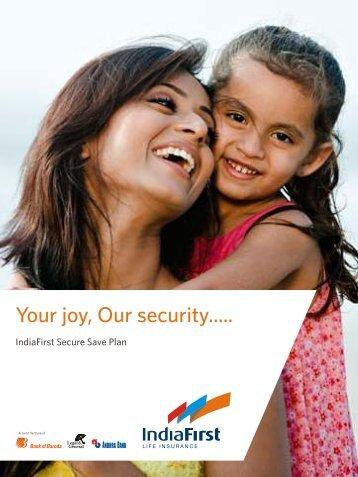 Secure Save Plan_V2_Brochure - Life Insurance