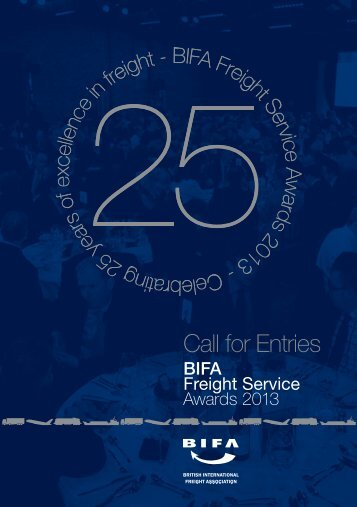 2013 FSA Brochure - British International Freight Association