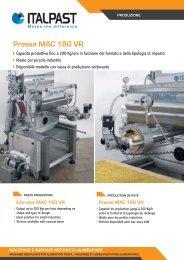 Pressa MAC 180 VR - Italpast